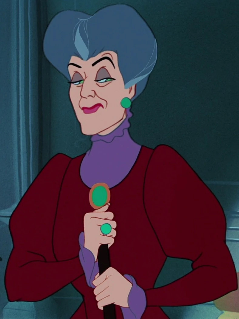 Lady Tremaine In A Still From Disney's Cinderella