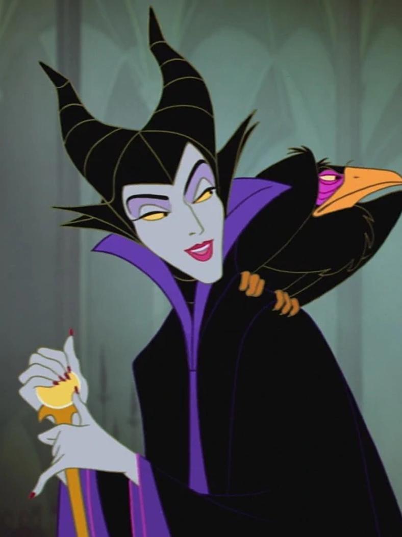 Maleficent In A Still From Sleeping Beauty