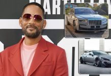 From Maserati GranTurismo To Rolls-Royce Ghost: Take A Look At Will Smith's Car Collection