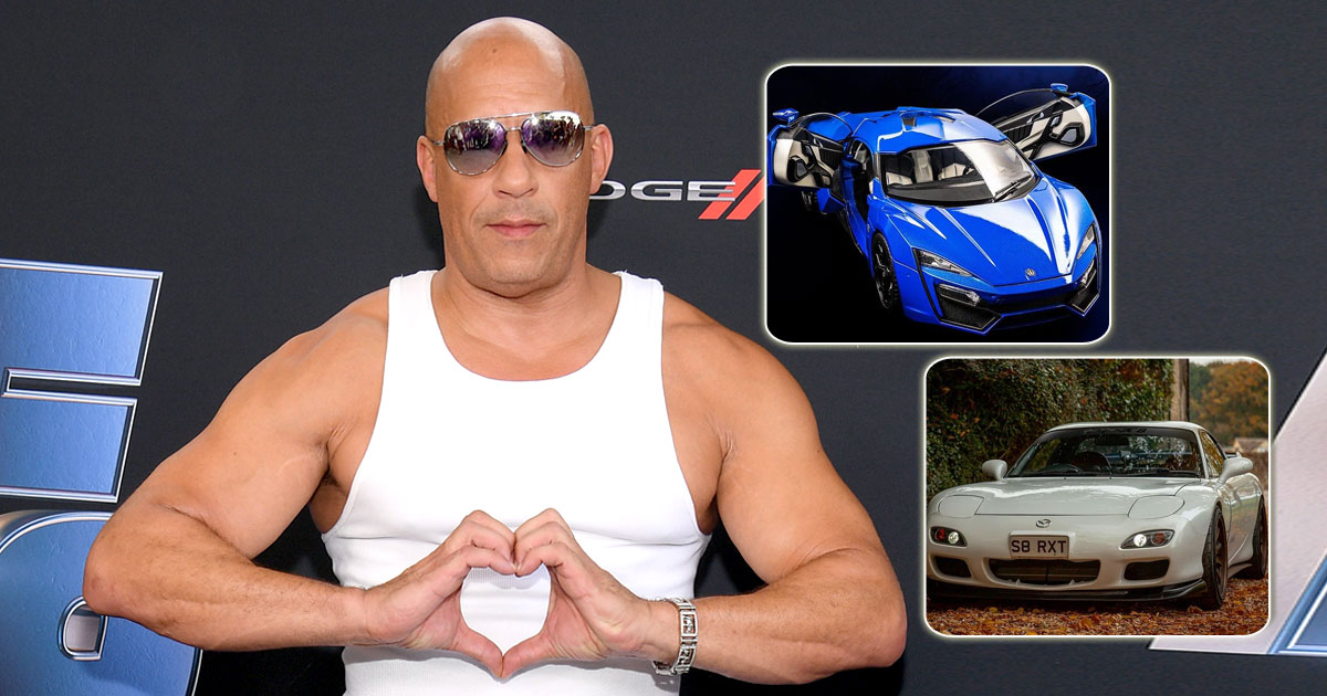 From Mazda RX-7 To Lykan Hypersport: Take A Look At Vin Diesel's Impressive Car Collection