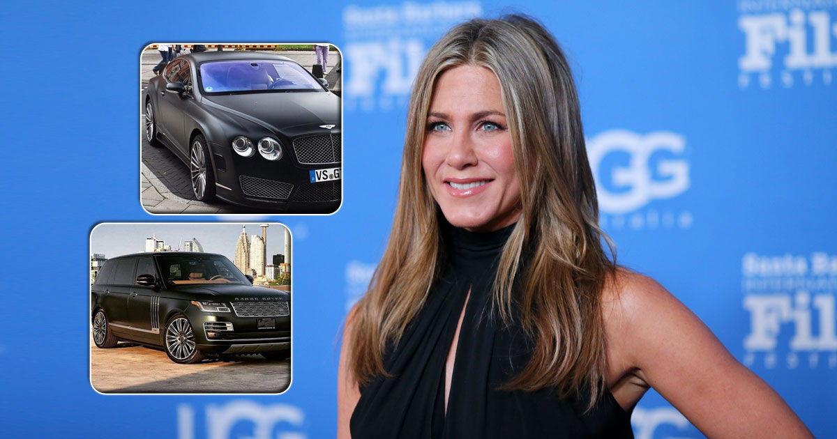 From Range Rover To Bentley Continental GT: Here Are Luxury Cars Owned By Jennifer Aniston
