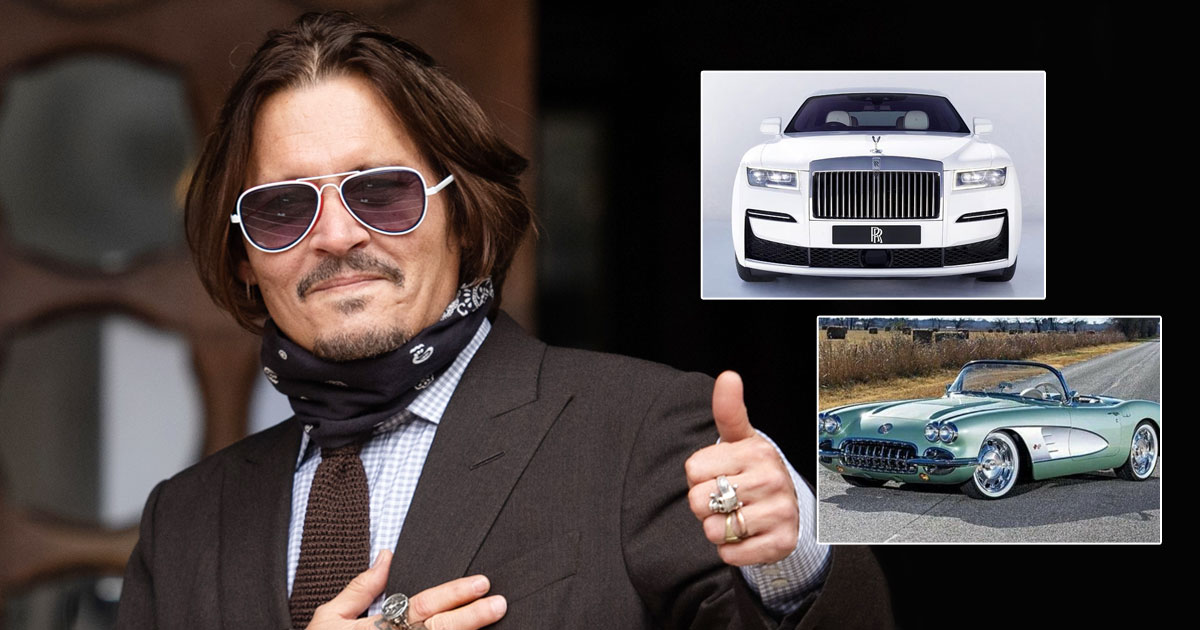 From Rolls Royce Wraith To 1959 Corvette: Johnny Depp's Luxurious Car Collection Will Make You Green With Envy