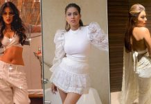 From Sexy Sarees To Dresses, Tops & More, Nia Sharma Proves White Can Be As Hot As Any Other Colour