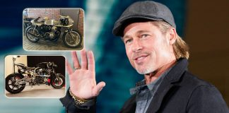From Shinya Kimura To Ecosse Titanium: Take A Look At Brad Pitt's Motorcycle Collection