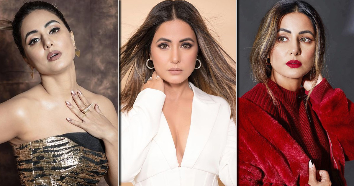From The #SilhoutteChallenge To The #IAmSoPrettyChallenge & #BussItChallenge – 5 Times Hina Khan Showed Off Her Beauty With Trendy Instagram Reels