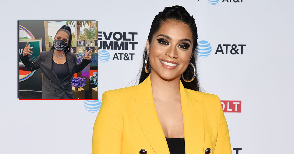 Grammy 2021: YouTuber Lilly Singh Wears A Powerful Mask Donning 'I Stand With Farmers' At The Award Ceremony, Deets Inside