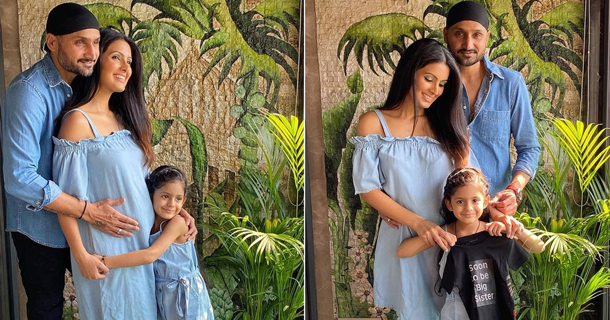 Harbhajan Singh, Geeta Basra expecting 2nd child