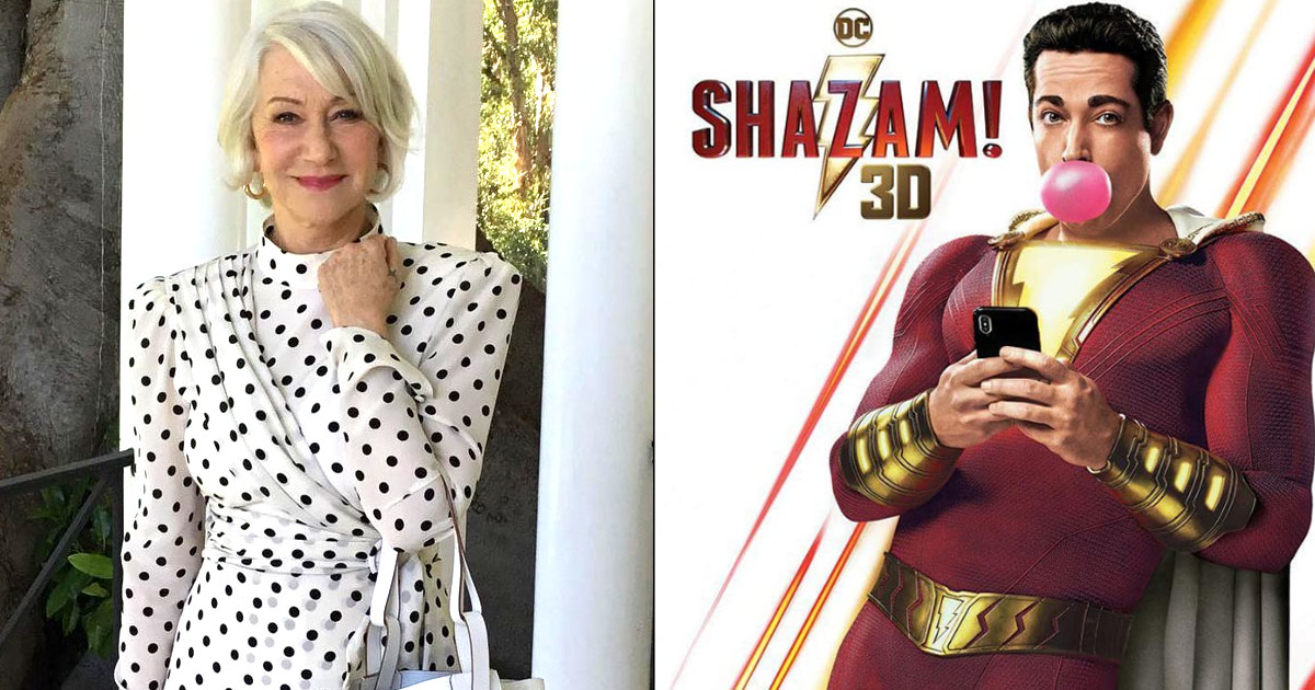 Helen Mirren cast as villain in 'Shazam! Fury Of The Gods'