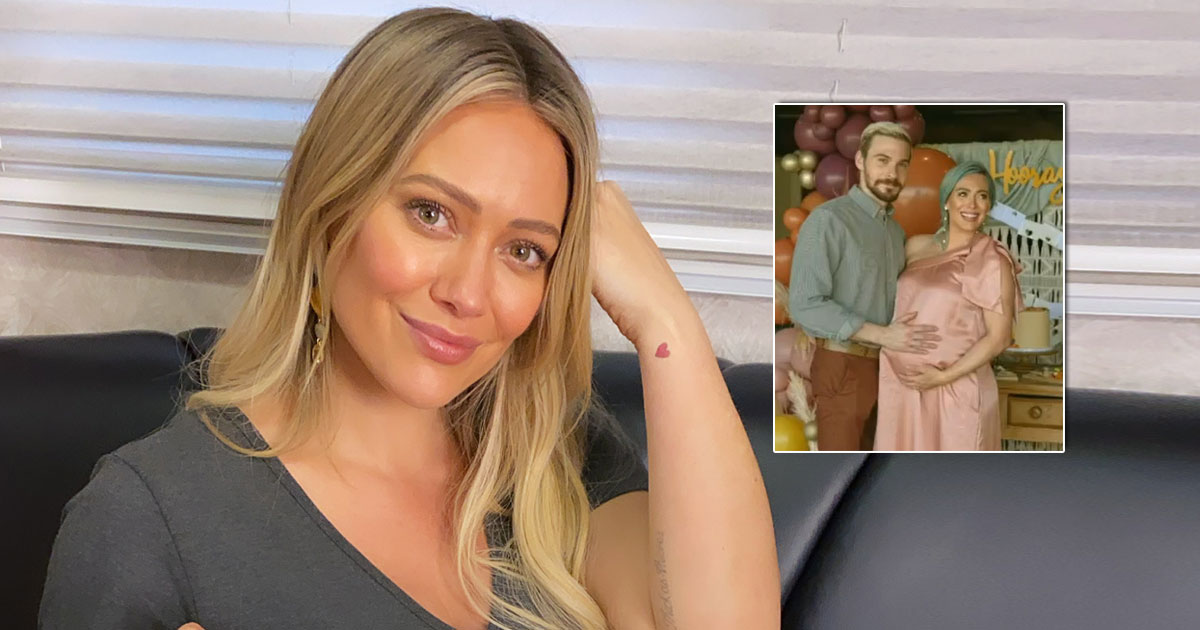 HILARY DUFF'S FRIEND THROW HER SPECIAL BABY SHOWER