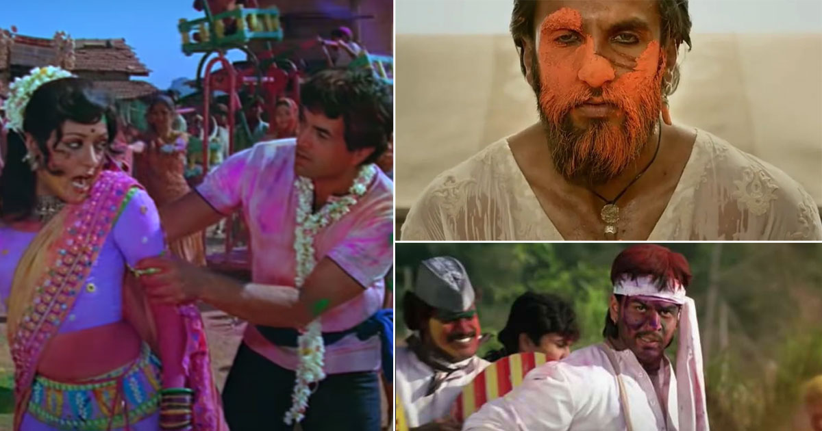 From Padmavat To Sholay & Darr, When This Festival Was Used For More Than Just For The Sake Of A Song!