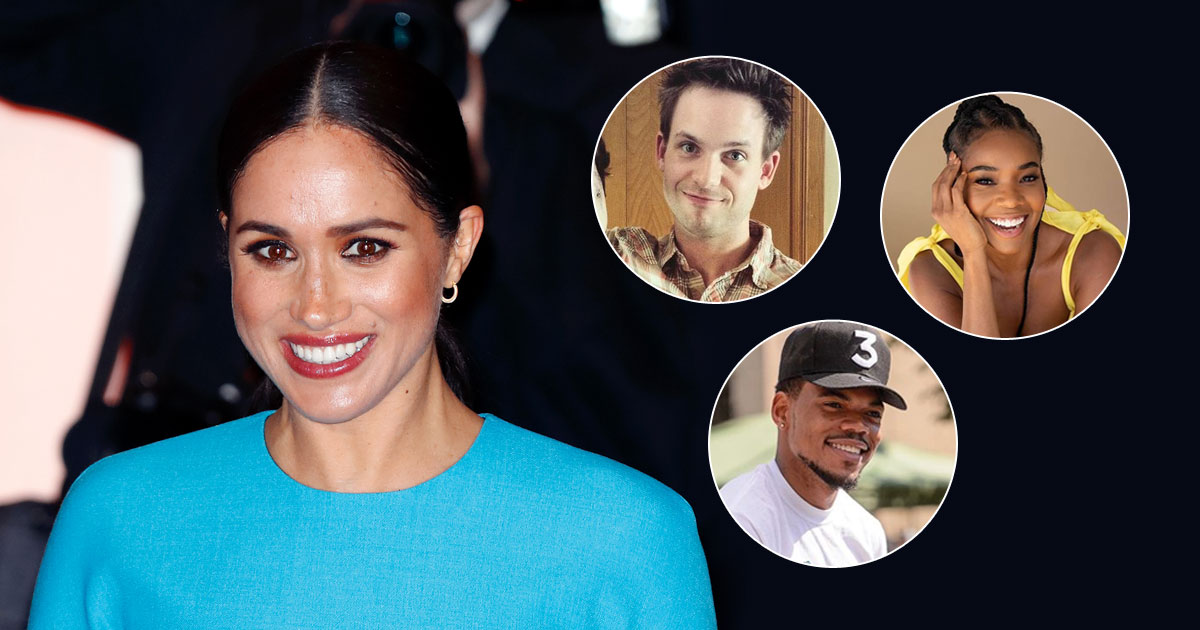 Hollywood Friends Including Patrick J Adams, Halle Berry Come In Support Of Meghan Markle!