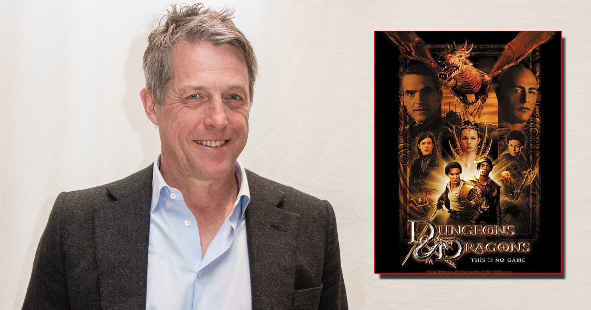 Hugh Grant Cast as Villain in 'Dungeons & Dragons' Film