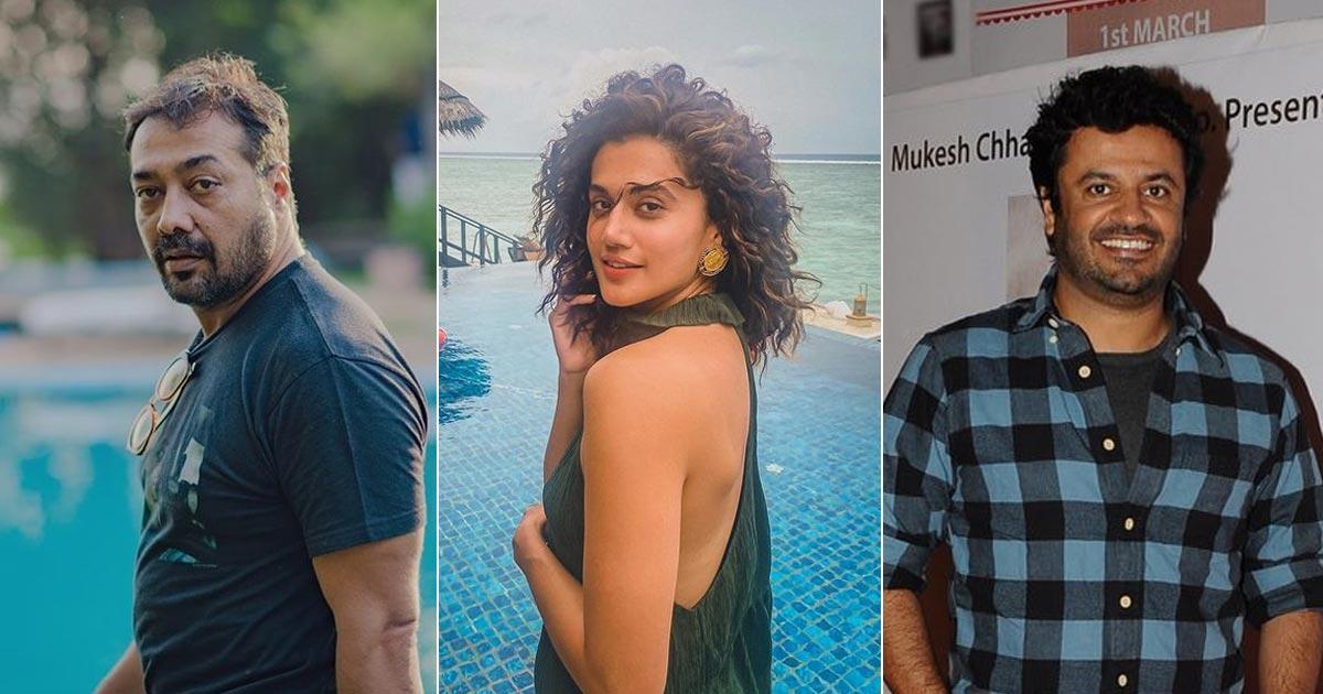 Anurag Kashyap, Tapsee Pannu & Vikas Bahl Face Income Tax Raid