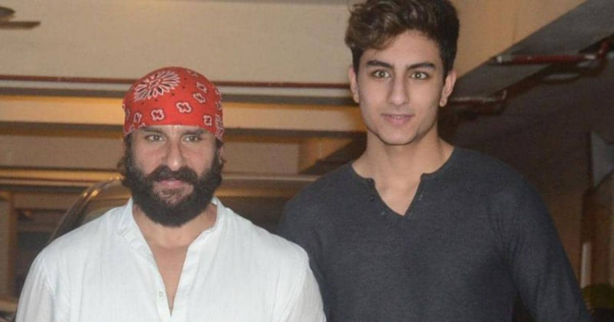 Ibrahim Ali Khan Looks Like Saif Ali Khan Starting All Over Again & You Won't Be Able To Unsee That, Check Out