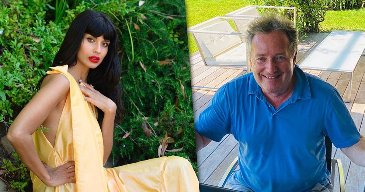 Piers Morgan's Exit From Breakfast Show Has Got Jameela Jamil In A Celebratory Mood