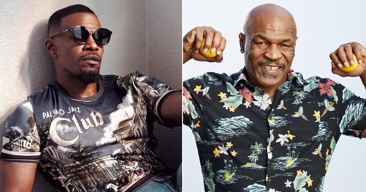 JAMIE FOXX'S MIKE TYSON FILM HEADING FOR THE SMALL SCREEN AS LIMITED SERIES