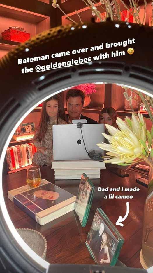 Jason Bateman shot for Golden Globes at Jennifer Aniston's house