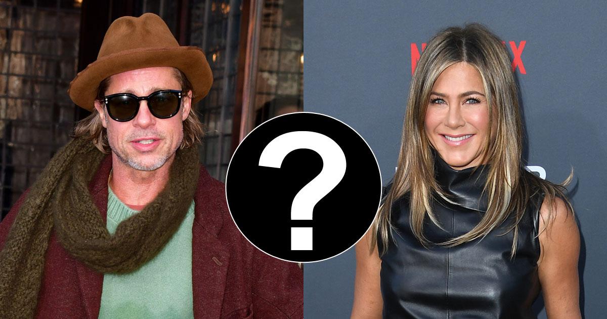 Jennifer Aniston Double Dating Brad Pitt & A Mystery Man?