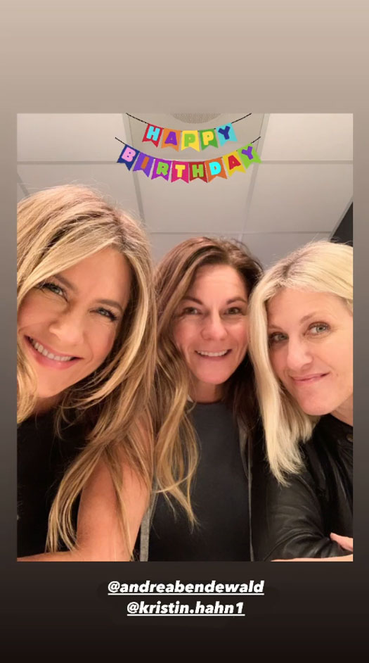 Jennifer Aniston's '11 11' Tattoo Is Linked To Her Oldest Friend Andrea Bendewald