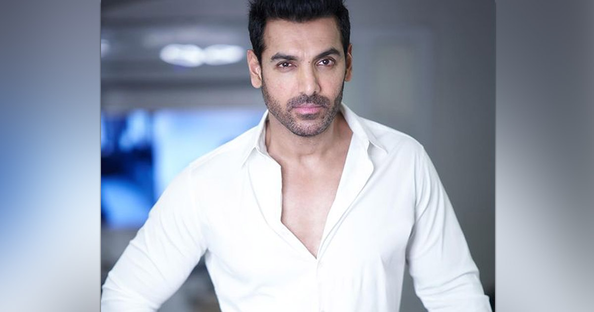 John Abraham Sent The Internet Into Meltdown As He Poses With Just A Pillow