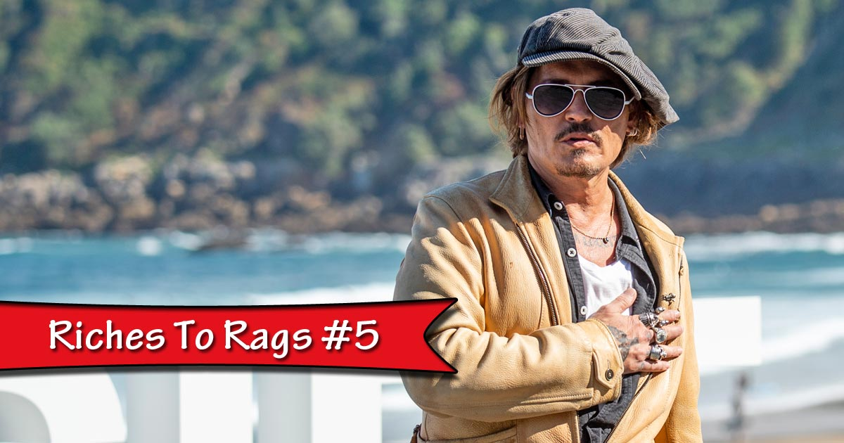 Johnny Depp Has Lost A Lot Of Money Over The Years!