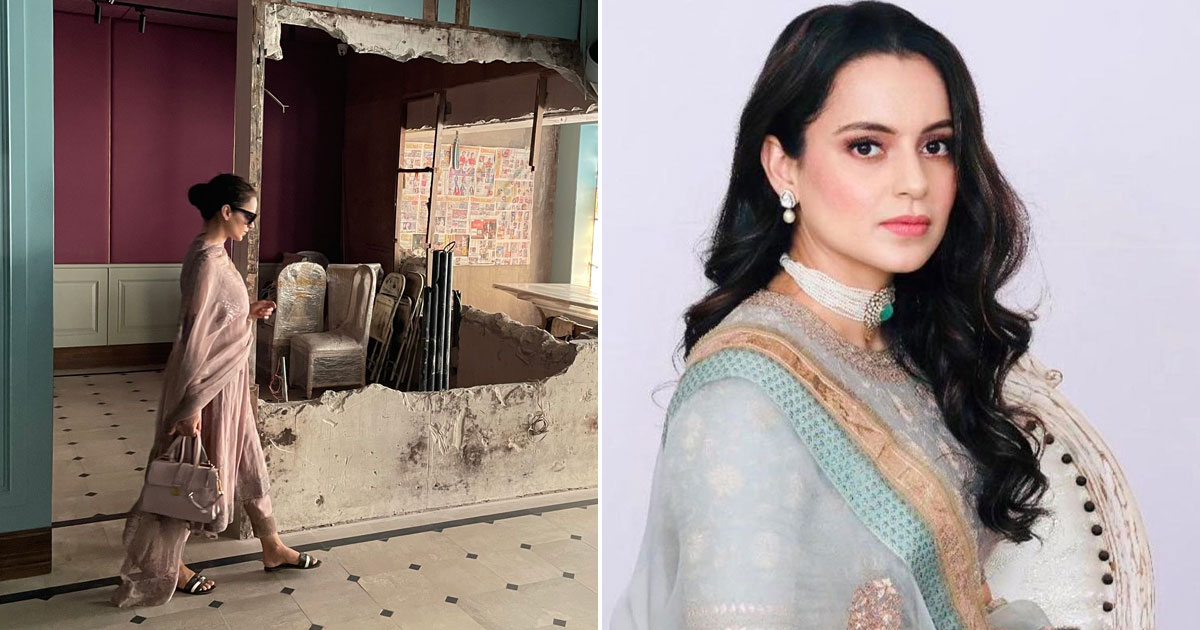 Kangana: No Architect Ready To Take My Case As They're Getting Threats From BMC