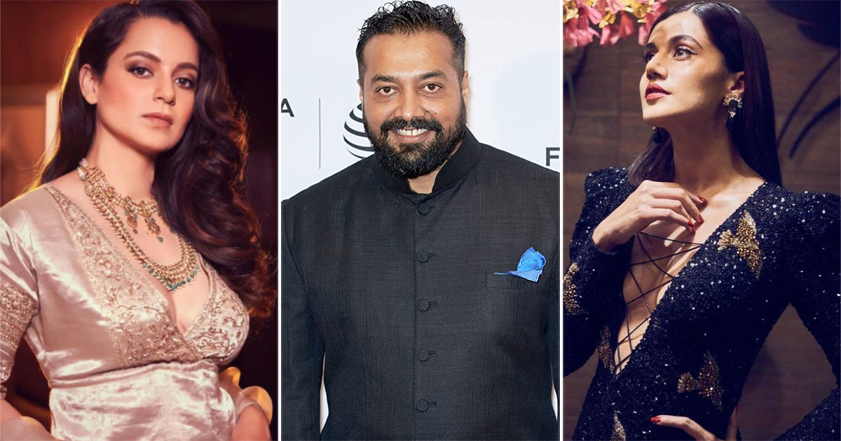 Kangana Ranaut Claims Taapsee Pannu & Anurag Kashyap Use Black Money To Provoke Shaheen Bagh Riots