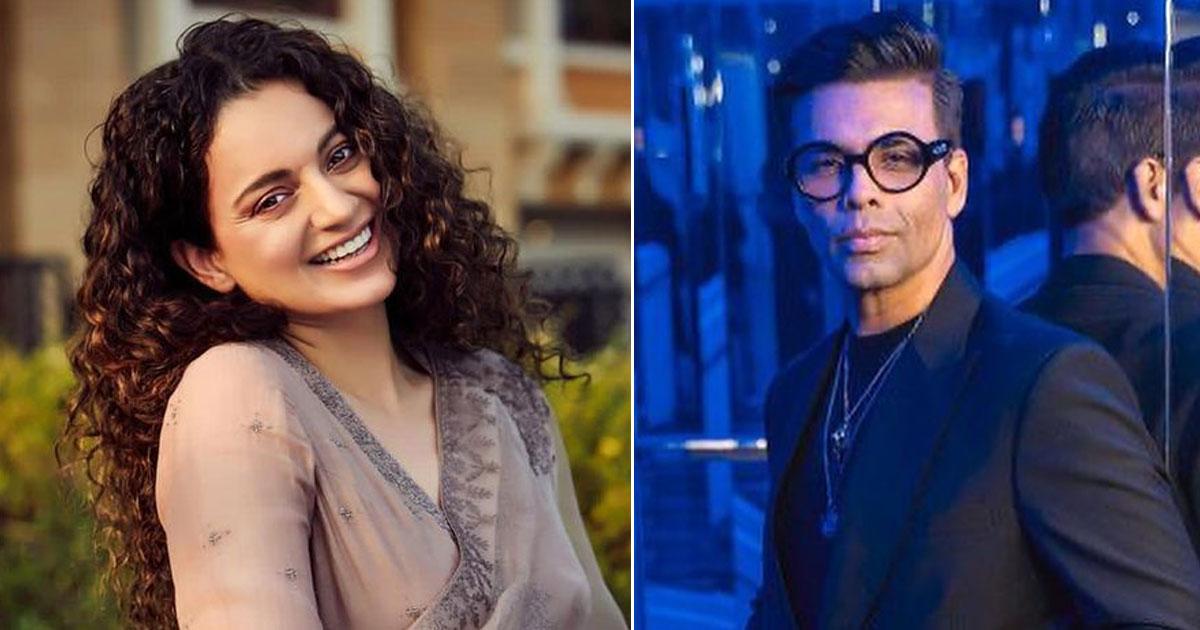 Kangana Ranaut Compares Karan Johar To Simi Garewal & Takes A Dig