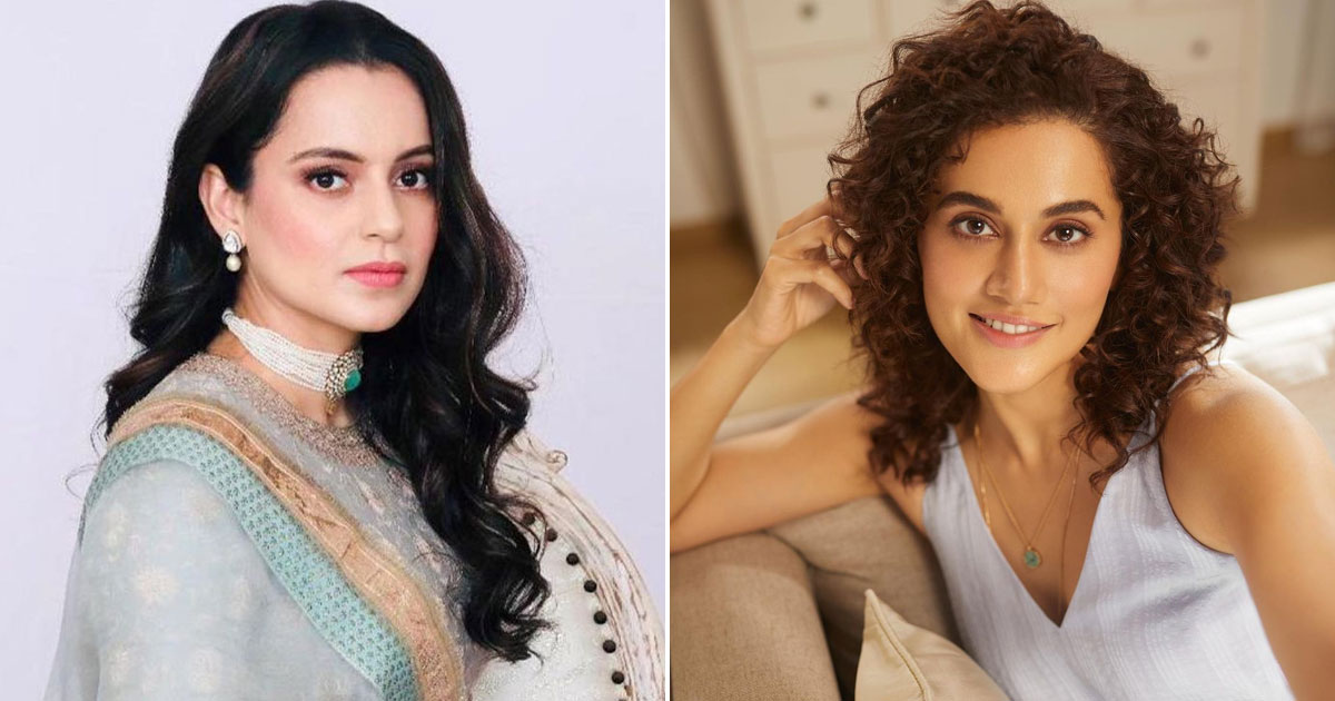 Kangana Ranaut to Taapsee Pannu over tax raid jibe: 'You will always remain sasti'