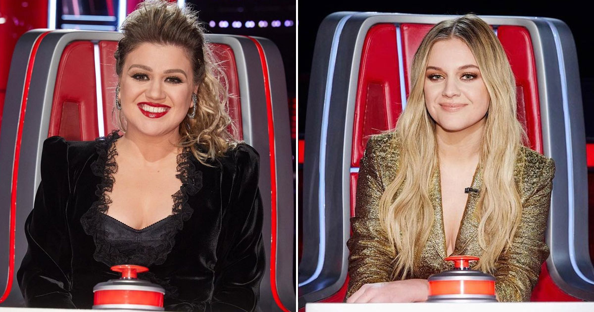 Kelsea Ballerini Replaces Sick Kelly Clarkson Shoes On The Voice