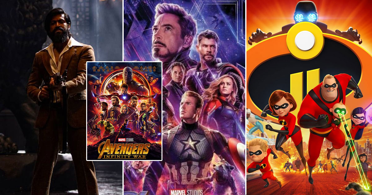 KGF Chapter 2 Surpasses Avengers: Endgame & Incredibles 2