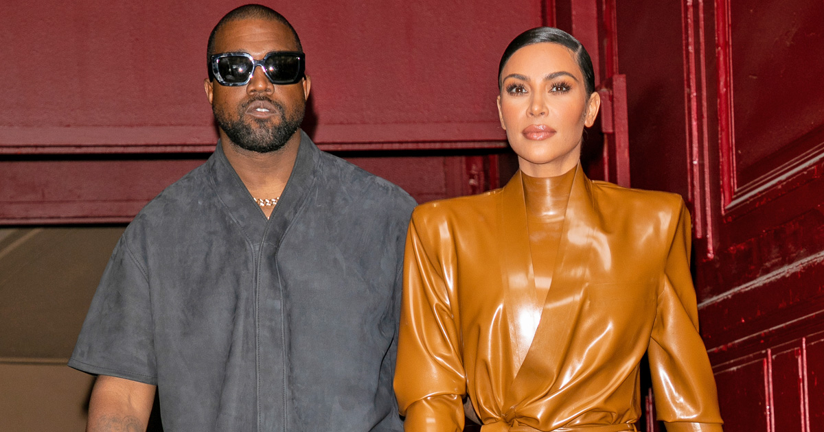 Kim Kardashian Had To Contact Kanye West Through Security Since Before Filing For Divorce - Report