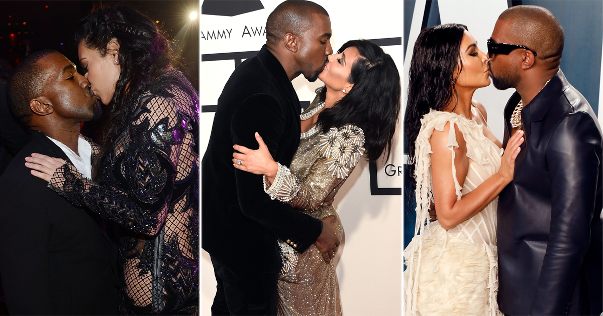 Kim Kardashian & Kanye West's These 4 Kisses Will Always Be A Proof Of Their Love