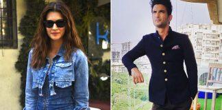 Kriti Sanon Breaks Her Silence On Sushant Singh Rajput Death