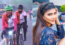 Lakshmi Manchu cycles 100 km for a cause