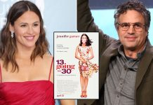 MARK RUFFALO ALMOST QUIT 13 GOING ON 30 OVER DANCE SEQUENCE