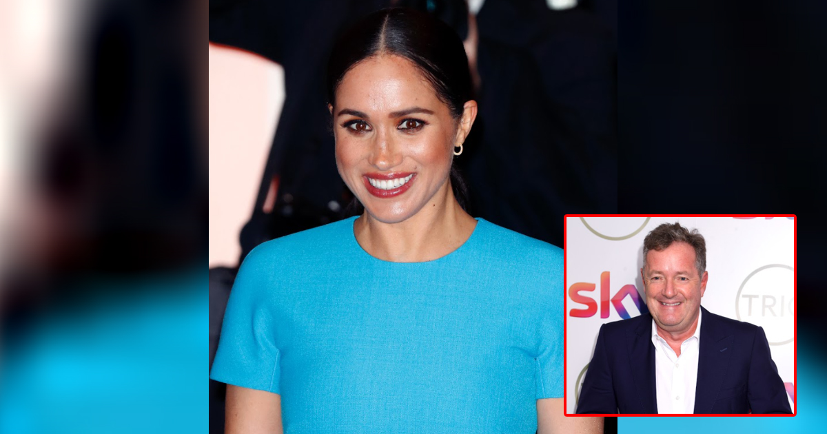 Meghan Markle Files An Official Complaint Against Piers Morgan For His Remarks About Her Suicidal Thoughts