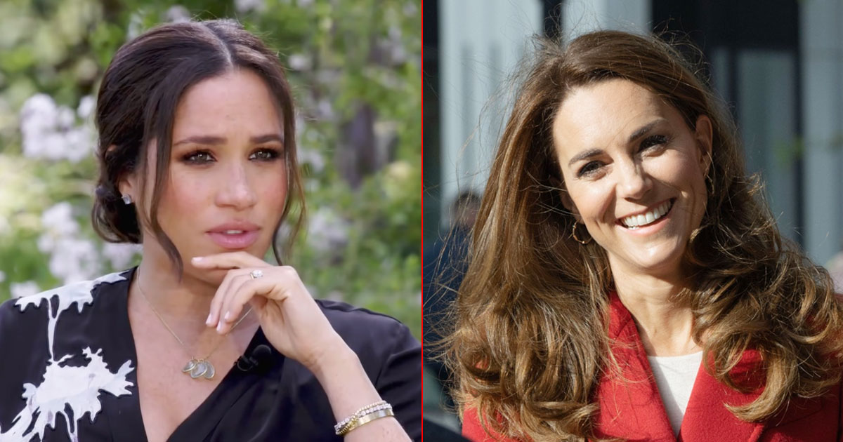 Meghan Markle Reveals Kate Middleton Made Her Cry Before Her Wedding Ceremony With Prince Harry!
