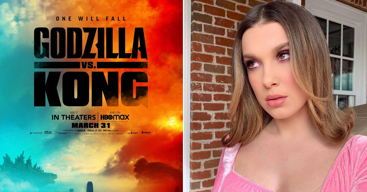 Millie Bobby Brown relates to role in 'Godzilla Vs. Kong'