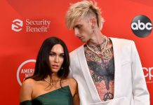 MODEL ACCUSES MACHINE GUN KELLY OF CHEATING ON HER WITH MEGAN FOX
