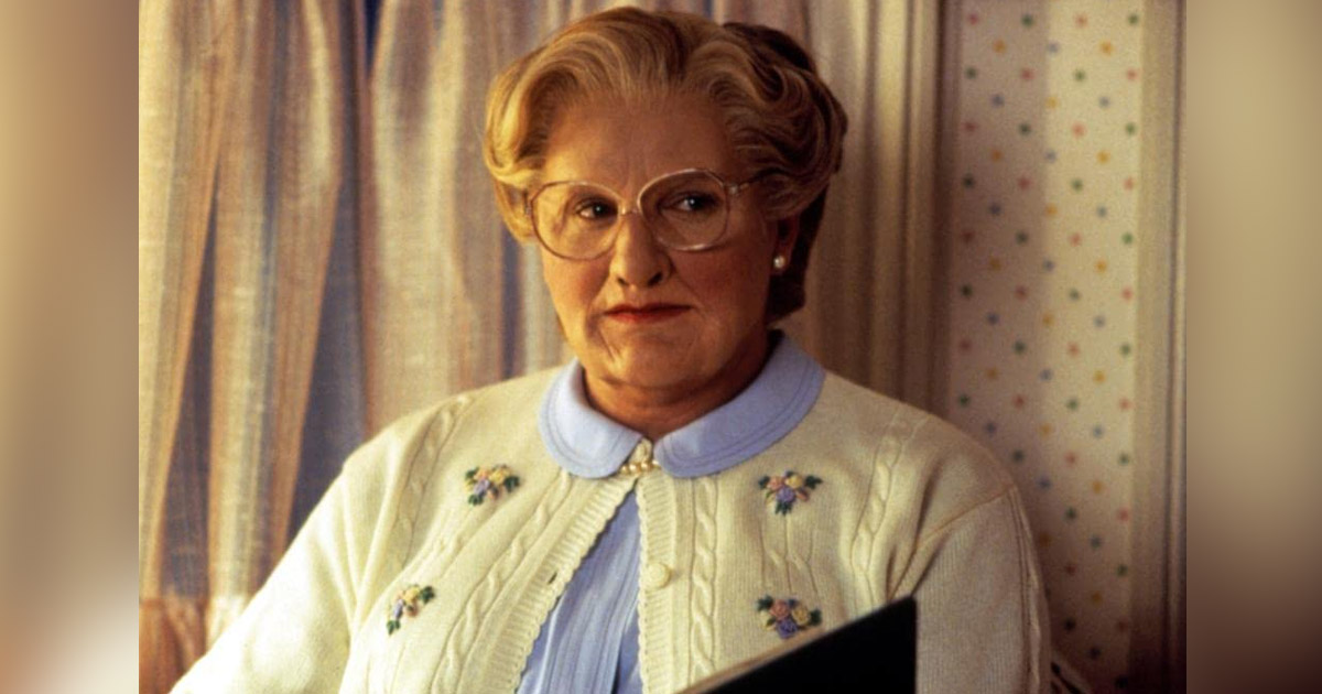 MRS. DOUBTFIRE DIRECTOR CONFIRMS R-RATED SCENES