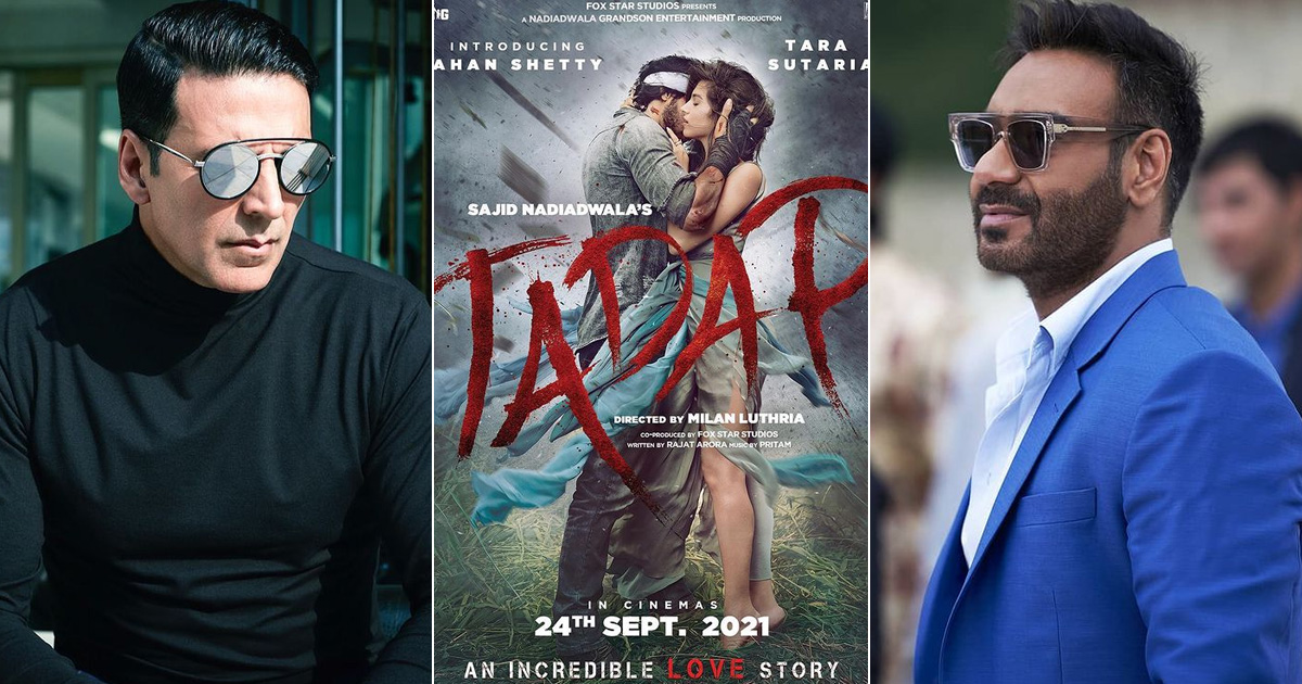 Nadiadwala Grandson Entertainment Production Presents The First Look Of Tadap, Co-Produced By Fox Star Studios