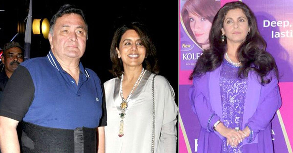 Neetu Kapoor Had The Most Epic Reaction To Rishi Kapoor & Dimple Kapadia's Kissing Scene In Saagar