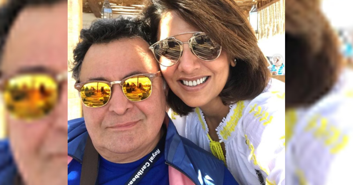 Neetu Kapoor Pulled Rishi Kapoor's Leg Publicly Once & Revealed He Was Not Romantic