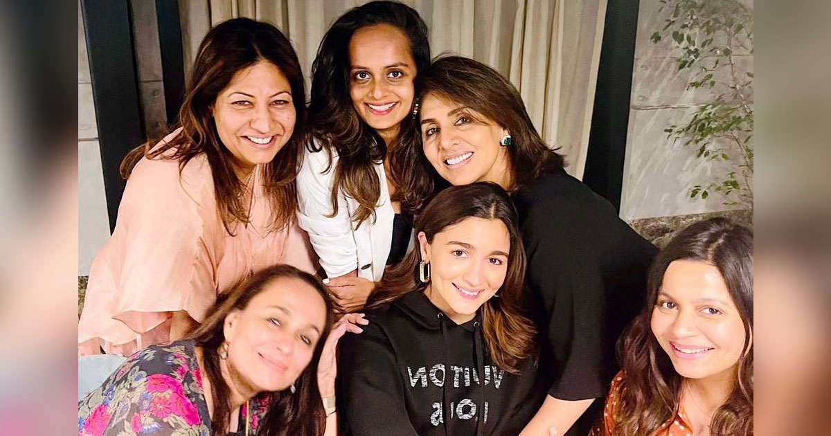 Neetu Kapoor shares photo of 'happy moments' shared with Alia