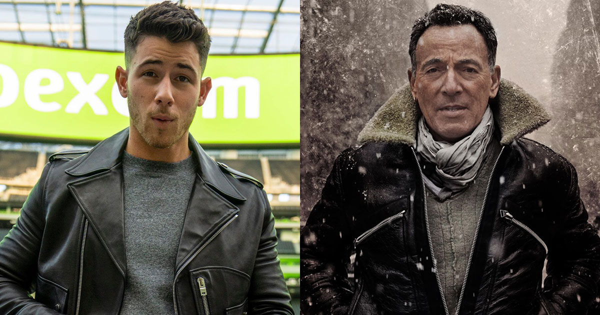 NICK JONAS WANTS TO PLAY BRUCE SPRINGSTEEN IN A FILM