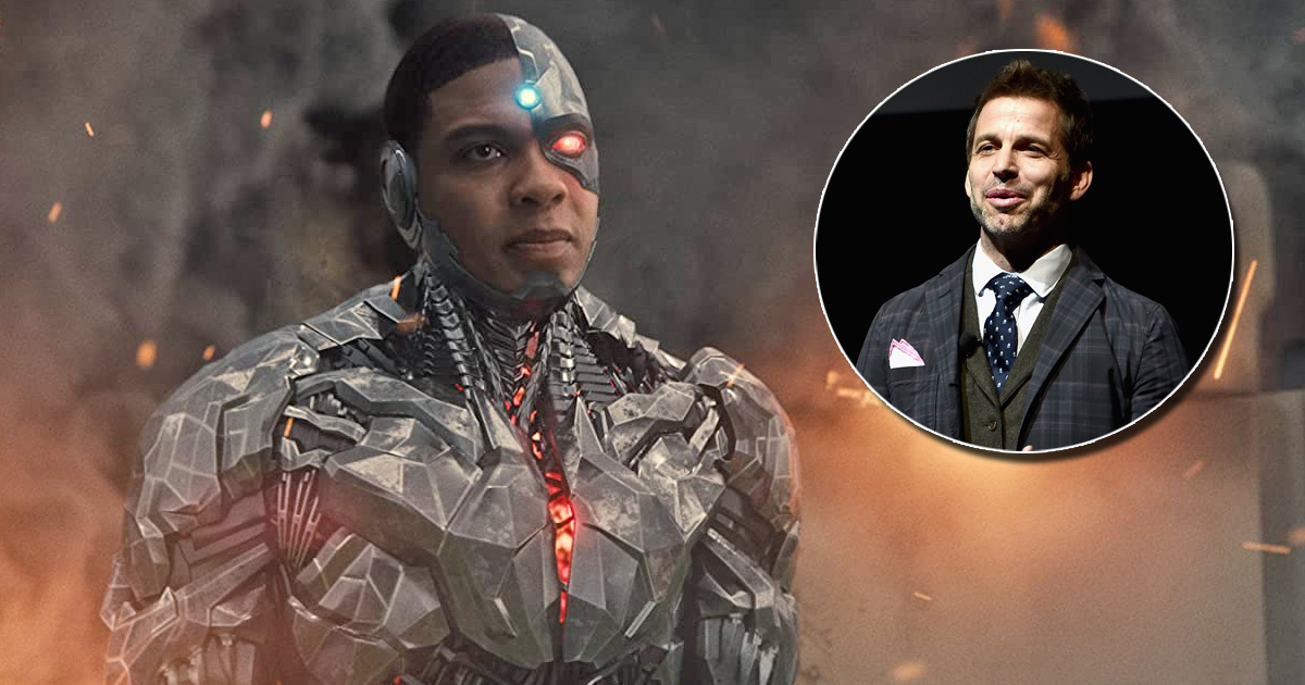 Not Given Ray Fisher's Cyborg His Dedicated Film Is Zack Snyder's Regret