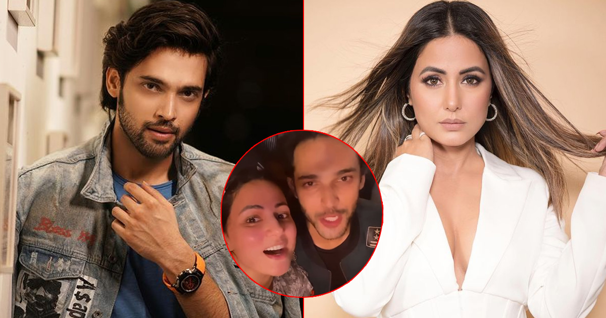 Parth Samthaan Parties With Hina Khan & Others On His 30th Birthday Bash