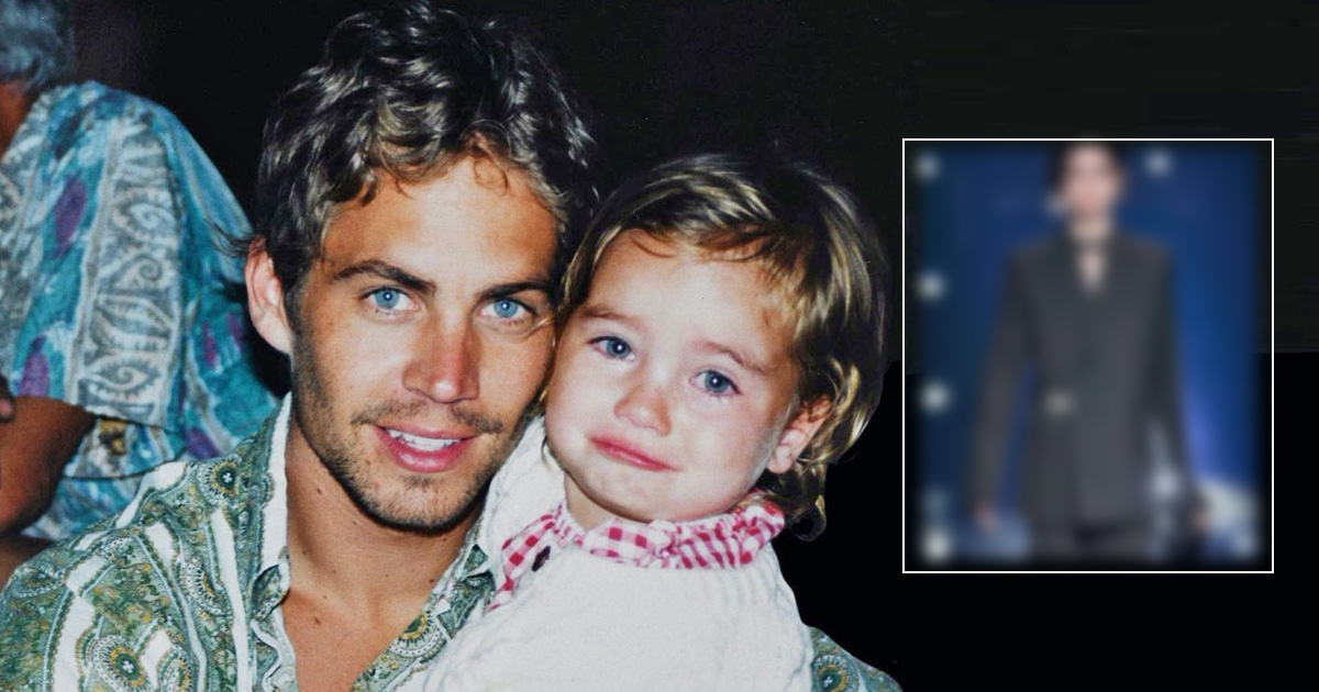 Paul Walker's Daughter Meadow Walker Is All Grown Up Now & Made Her Runway Debut With Givenchy's Fall 2021 Show, Check Out