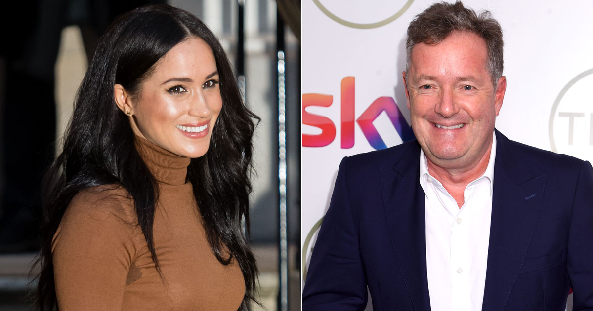 Piers Morgan Reveals The Violent Threats His Sons Are Receiving Amid The Meghan Markle Drama Has Made His Stomach Churn
